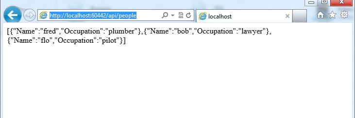 how to write web api client c