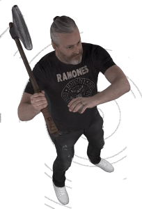 Pete with Axe